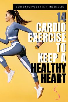 It's the month of love and you should do yourself a favor and love yourself by giving your body what it needs and that giving your heart what it needs. Cardio is the exercise that stimulates and strengthens the heart and lungs. Here are 14 CARDIO EXERCISES TO TO KEEP A HEALTHY HEART. Fitness Exercises, Fitness Tips, Sprints On Treadmill, Pilates Abs, Cardio Machines, Heart And Lungs, Healthy Heart, Muscle Pain, Burn Calories