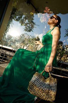 Glamour, Street, Dresses, Fashion, Green, Vestidos, Moda, Fashion Styles, Dress