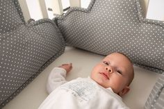 clouds Crib bumper, baby crib bumper, Clouds pillows, baby cot bumper, baby cradle bumper-grey white polkadots, new born gift, baby beddings by PocketsKidsKingdom on Etsy https://www.etsy.com/listing/290499937/clouds-crib-bumper-baby-crib-bumper