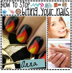 """""""how to stop biting your nails"""" by polytipgirllz ❤ liked on Polyvore"""