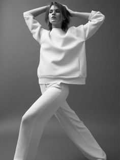Sporty Chic Tailoring - minimal fashion, style simplicity // Ph. Mikael Schulz