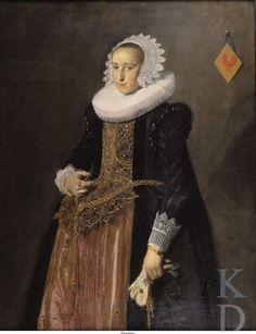 Hals, Frans (I). Aletta Hanemans, Dated 1625