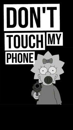 Iphone Wallpaper Quotes Funny, Funny Lockscreen, Simpson Wallpaper Iphone, Cartoon Wallpaper Iphone, Iphone Wallpaper Tumblr Aesthetic, Iphone Background Wallpaper, Cute Cartoon Wallpapers, Pretty Wallpapers, Ipod Wallpaper