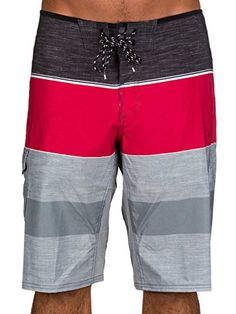 Reef RF00A438 Mens Slideazoid Boardshort Red  28 *** Locate the offer simply by clicking the image