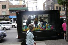 Koodo got people excited with their fun, 80s-inspired campaign featuring ThinkTANK's Mobile Showroom. #outdooradvertising #alternativeadvertising #mobileads #mobileadvertising