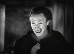 Conrad Veidt as THE MAN WHO LAUGHS ( 1929 ) he was the man with the permanent SMILE. It was this Make-Up and this Picture that caught the attention of Director James Whale, for he needed the BEST when it came to Make-Up on his NEW PROJECT... a little film by the name of FRANKENSTEIN.
