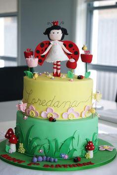Ladybug Girl Cake