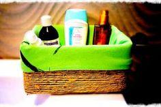 SCATOLA CON SPAGO FAI DA TE Facial Tissue, Laundry Basket, Wicker, Organization, Youtube, Home Decor, Getting Organized, Organisation, Decoration Home