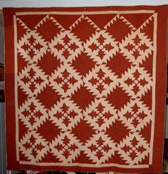 Antique Applique Quilt 1870' 1880'S | eBay