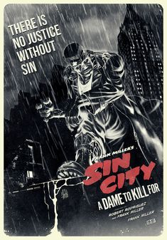 """xombiedirge: """"Sin City - A Dame To Kill For by Daniele Moretti """""""