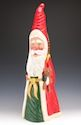 Paul Green | Santa Claus Figurines and Hand Carved Wooden Santas