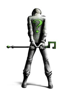 See Batman Arkham City: The Riddler on our superhero and sci-fi art and images gallery. Batman Arkham City, Batman Arkham Series, Riddler Gotham, Im Batman, Batman Art, Gotham City, The Riddler, Gotham Villains, Batman Stuff