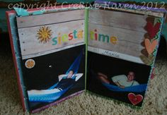 A lovely look at Mexican Siesta Time from my sister's anniversary mini album