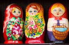 Matryoshka Dolls  by Vera Kratochvil