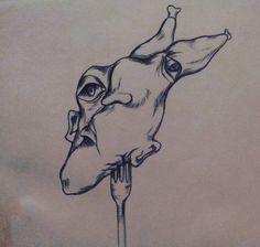 Tinta sobre papel/ Por: Daniela Batalla