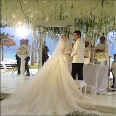 Check Out Heart Evangelista's Wedding Gown! 4