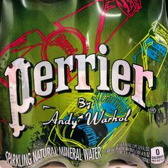 But… but… WHY?? #warhol #artfail #perrier #artisdead #drinkup