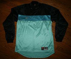 d06402c60 NIKE Team Soccer Goalkeeper Goalie long-sleeve padded Jersey Shirt-Adult  Small Nike Pro
