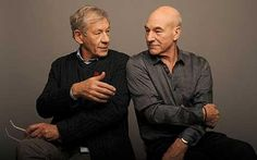 Ian McKellen & Patrick Stewart Confirmed for Singer's 'X-Men: Days Of Future Past' Patrick Stewart, Sir Ian Mckellen, Days Of Future Past, Men's Day, James Mcavoy, Gandalf, Older Men, Michael Fassbender, Look At You