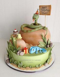 Reptile cake - Catherine's Cakery