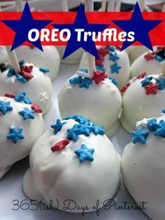 Oreo truffles are a