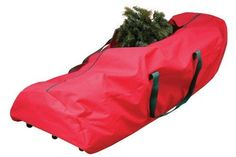 Christmas Tree Storage Bag  Wheels Heavy-Duty Polypropylene 9ft Store Up or Down