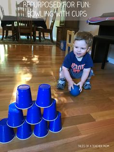 indoor activities for 2 year olds Ten Easy Activities To Do With A Two Year Old - Tales of a Teacher Mom Indoor Activities For Toddlers, Gross Motor Activities, Toddler Learning Activities, Games For Toddlers, Infant Activities, Preschool Activities, 2 Year Old Activities, Winter Activities, Fun Learning