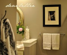 Dear Lillie: Sprucing up our Master Bath