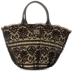 Love this: Raffia and Crochet Tote @Lyst