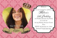 Adult Birthday Celebration Background Invitations