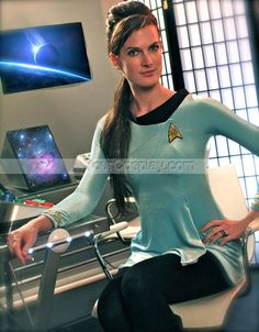 Custom Star Trek TOS female skant cosplay/costume uniform, New Arrival Costumes, Cosplay Costumes