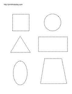 preschool printables | Free printable worksheets with basic shapes for preschool kids | Print ...