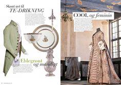 Sko og Accessories – 1700-tallet formidlet i modebladssprog, Martins Museumsblog