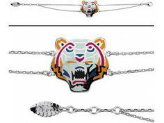 Bracelet Kenzo. Bijoux créateurs. En vente en boutique et sur notre site internet : http://www.bijouterie-influences.com/search.php?search_query=tiger