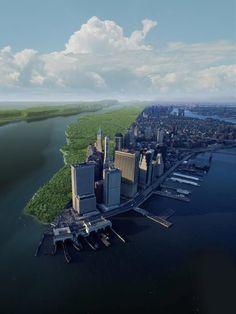 Manhattan Depicted Before Human Impact | LiveScience