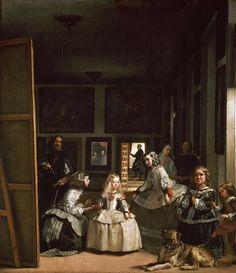 #AccaddeOggi 6 giugno1599 nasce a Siviglia Diego Velazquez Autoritratto in Las Meninas,1656 @museodelprado @Asamsakti