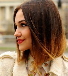 corte-hombro-mujer cortes 2016 cortes para mujer cabello corto hairstyle mechas californianas