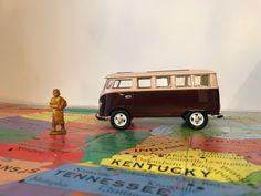 Excited to share the latest addition to my #etsy shop: Brown Toy Volkswagen Van * VW Van * Volkswagen Bus * Brown VW * Toy Volkswagen * Toy Car *  Diecast #toys #brown #birthday #halloween #beige #volkswagen #volkswagenvan #brownvolkswagen #brownvan