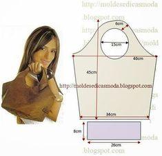 Handbag Patterns, Bag Patterns To Sew, Handmade Handbags, Handmade Bags, Leather Craft, Leather Bag, Diy Handbag, Denim Bag, Fabric Bags
