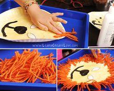 Lion Mask Craft