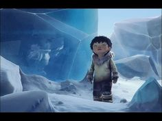 "Pas de paroles........Images vraiment belles....CGI Animated Shorts HD: ""Tuurngait"" - by The Tuurngait Team"