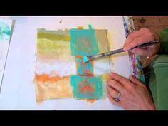 Fresh Paint #4 - YouTube GREAT painting video (Jane Davies)