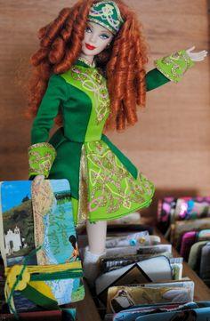 Coleção Festivais do Mundo - Irlanda 2007  Barbie Dança Irlandesa Ireland