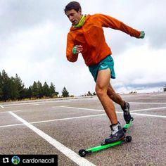 Do you want to train Skimountaineering? Join the Skimo S17 experience by Bonés Skiroll #Repost @cardonacoll ・・・ Ejercicios sobre ruedas! 💪 La nieve cada vez está mas cerca 😊 Buenos dias de técnica de Rollers con el #CTEMC y la Seleccion!  @dynafit @costabravapirineu @cebe_eyewear @duo_tonic @bones_sports 📸@alex_masdeu  #inpyrenees #CostaBravaPirineuDeGirona #cerdanya #DynafitSpain #Dynafit #rollers #technicaltraining #keeponworking #rollerski #skimo #skimos17 #bonessports #bonesskiroll