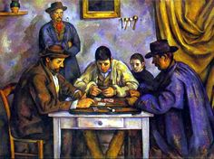 Paul Cézanne. Card Players. 1890-1892. Oil on canvas. Barnes Foundation, Lincoln University, Philadelphia, PA, USA