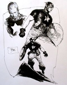 Drawing Comics Captain America by Travis Charest - Comic Book Artists, Comic Artist, Comic Books Art, Marvel Comics Art, Bd Comics, Storyboard, Reference Manga, Travis Charest, Marvel Captain America