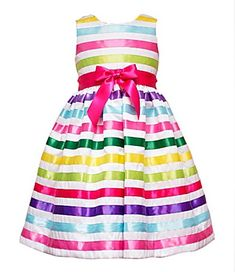 Rare Editions Little Girls' Shantung Dress Baby Girls, My Baby Girl, Baby Girl Newborn, Girls 4, Girly Girl, Toddler Dress, Baby Dress, Baby Girl Fashion, Kids Fashion