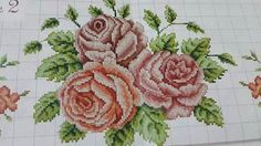 Cross Stitch Rose, Cross Stitch Borders, Cross Stitch Flowers, Cross Stitch Patterns, Teapot Cover, Yarn Shop, Easy Crochet Patterns, Vintage Patterns, Embroidery Stitches