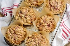 Delicious, moist, fragrant muffins... and healthy, too! Remember to add your crunchy hazelnut topping before baking.