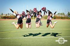 Varsity Cheer senior girls  Terina Matthews Photography